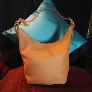 Coach Legacy Tan Hobo or Bucket bag #9823  Coach